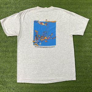 Vintage 90's Snuba Big Island Snorkeling T-Shirt